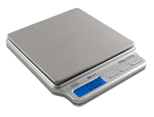 AMW-SC-501A 500 x .01g Digital Pocket Scale & Adapter